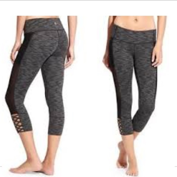 1378786ab51adc Athleta Pants | Mesh Mind Over Mat Capris | Poshmark